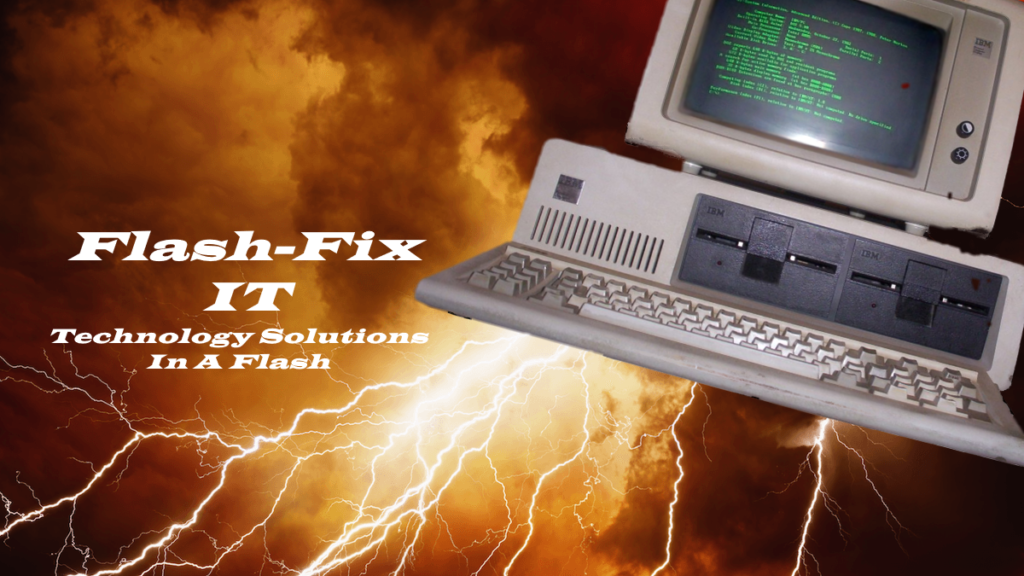 Flash-Fix IT webpage designs